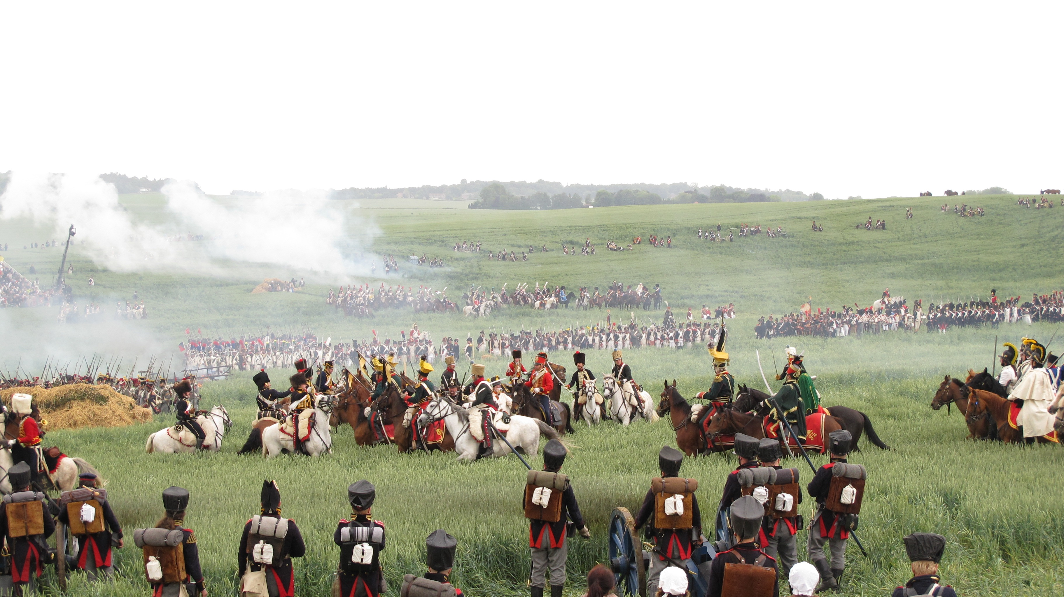 Waterloo Reenactment For History Buffs The Sleepless