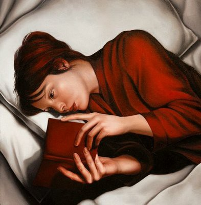 (c) Girl reading by Mary-Jane Ansell